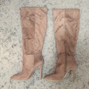 Charles by Charles David Knee-High Stiletto Boot